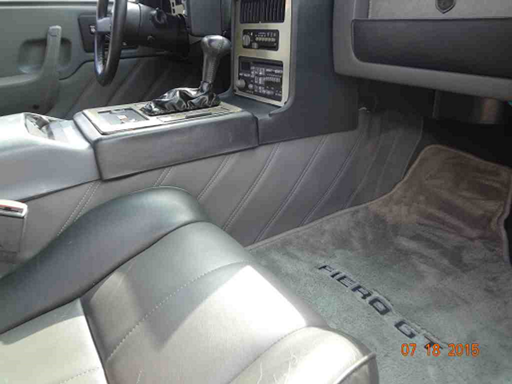 Pontiac Fiero Custom Inner Lower Center Console Upholstery Kit