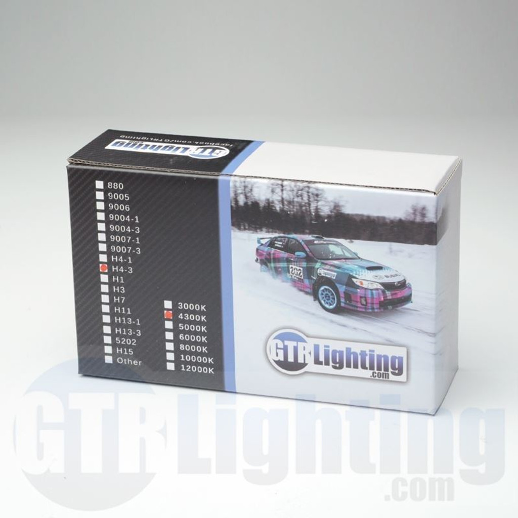 GTR Lighting 35w/55w Single Beam HID Bulbs, H3