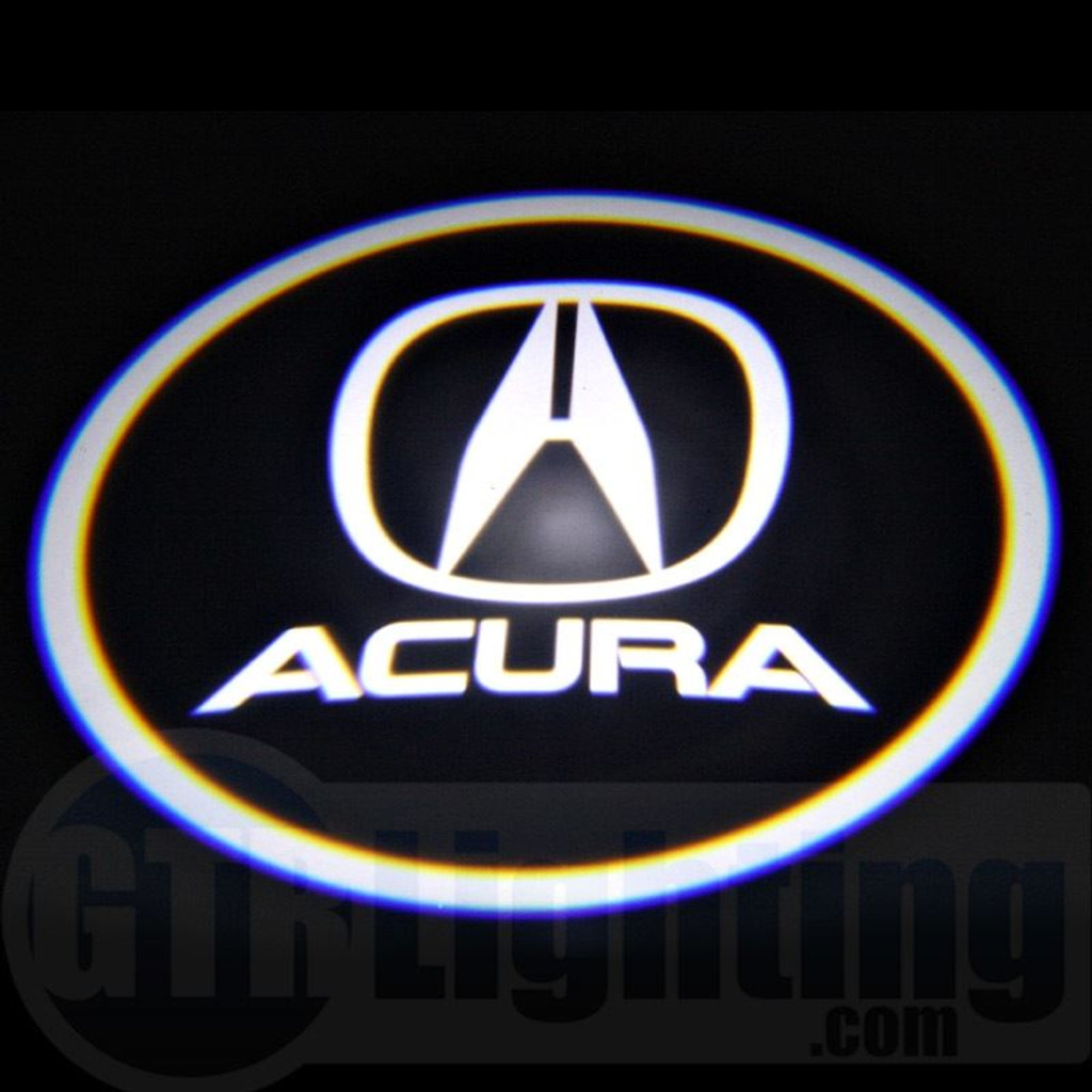 GTR Lighting LED Logo Projectors Acura Logo - Acura symbol for car