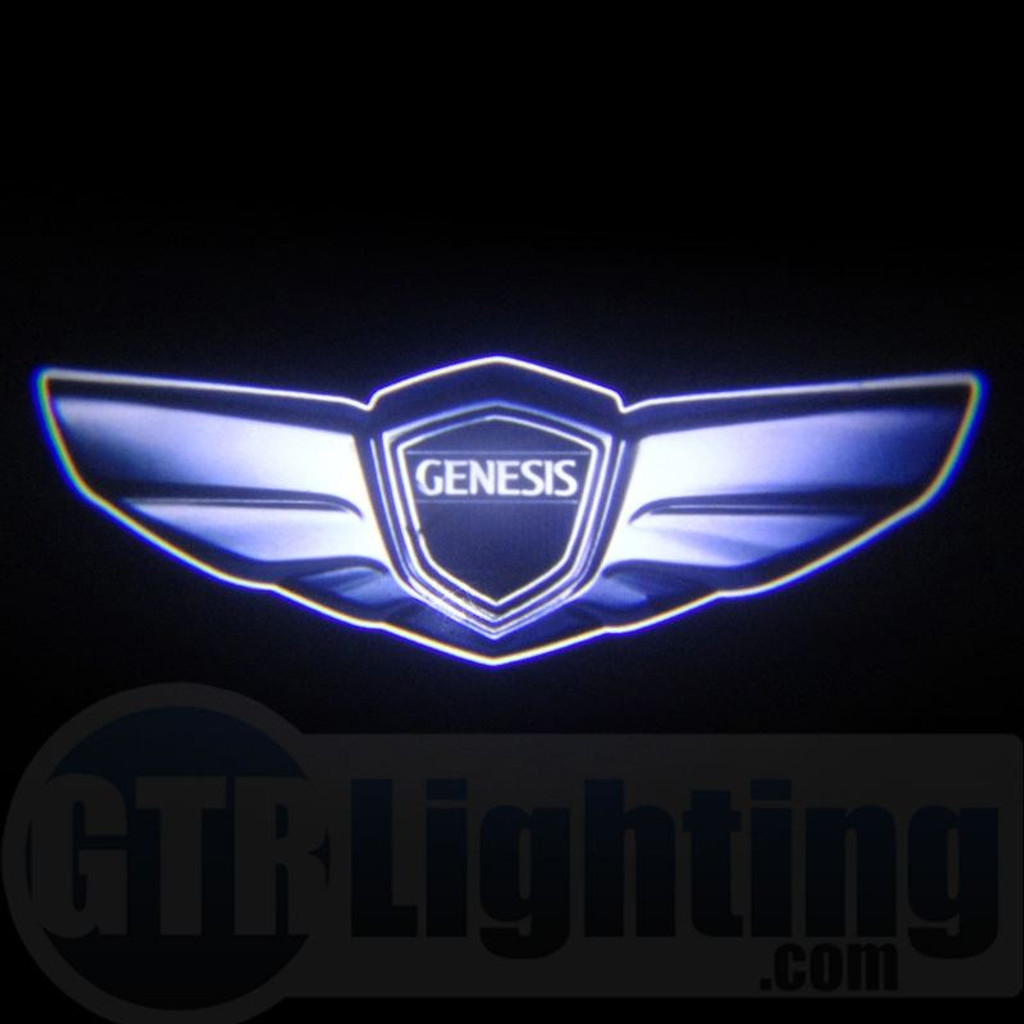 Gtr Lighting Led Logo Projectors Hyundai Genesis Logo 62