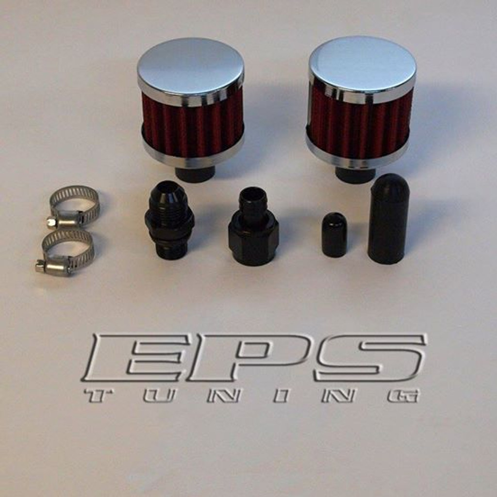 Open Breather Conversion Kit - VQ35DE/REVUP