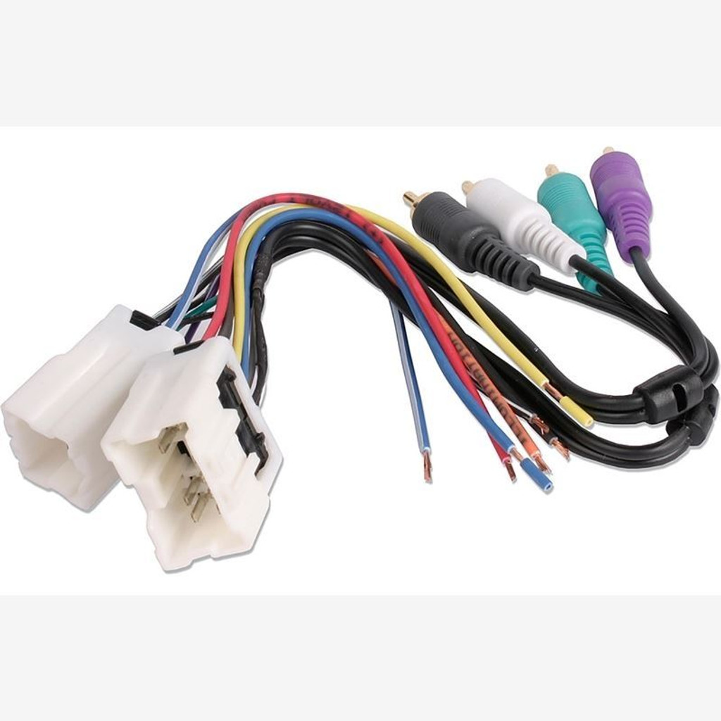 metra nissan 350z cd dvd player wire harness adapter kit for bose rh blacktop racing nissan stereo wiring harness adapter 22 Pin Ford Mirror Wiring