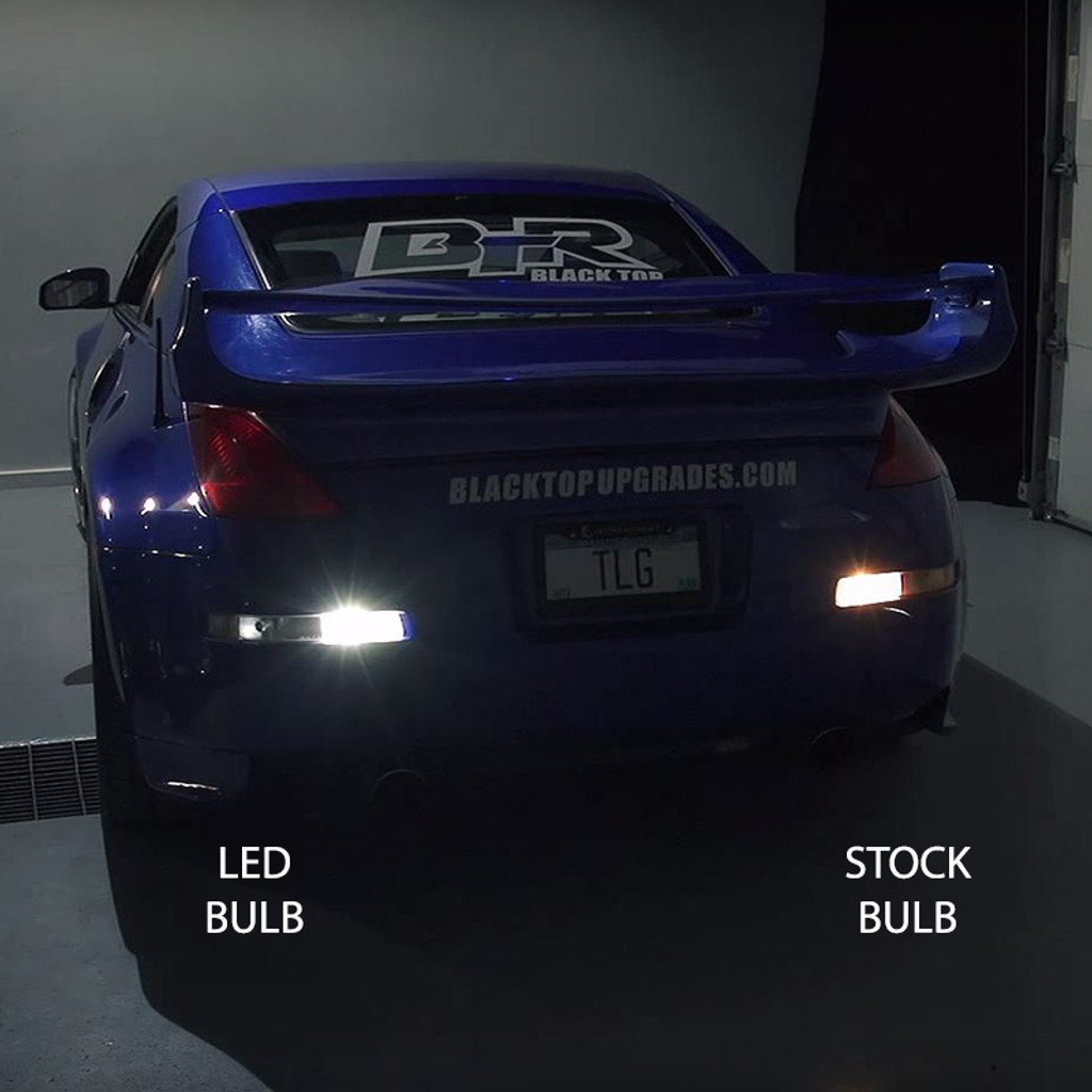 REVERSE LIGHT BULBS - 2003 - 2009 Nissan 350z LED Bulb Upgrade Kit