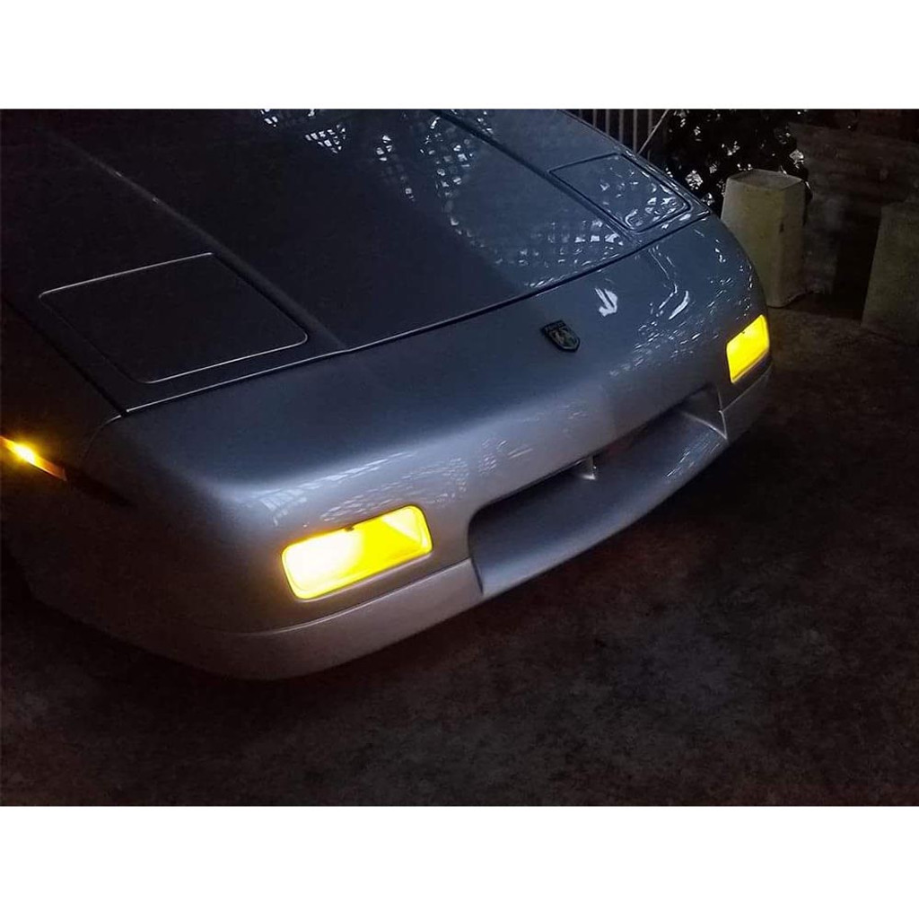 BTR Pontiac Fiero GT Smoked Front Turn Signal Covers