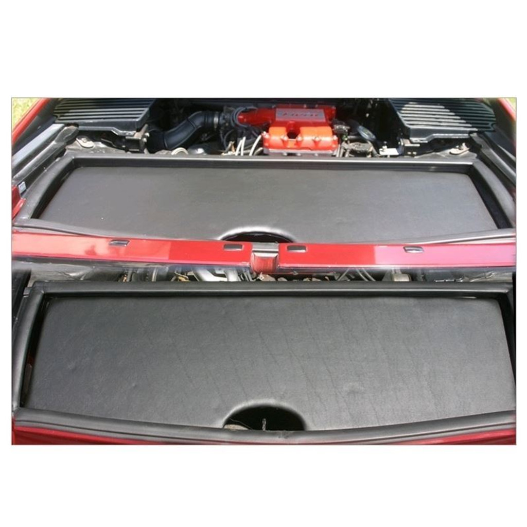 BTR Pontiac Fiero Fastback Upper Trunk Cover WITHOUT Logo