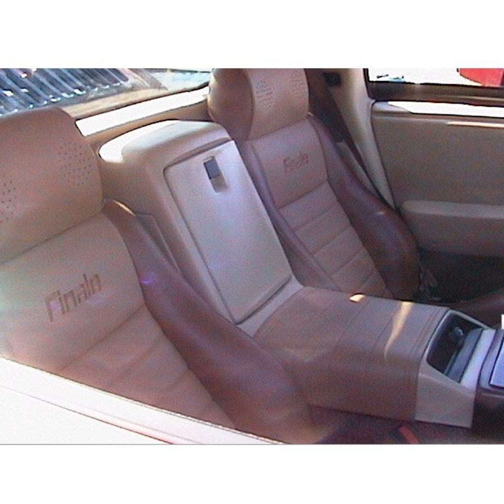Pontiac Fiero Custom Center Console Saddle Wrap