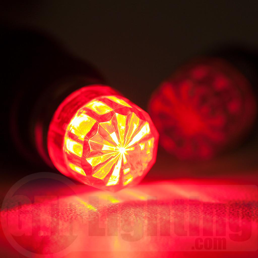 LVL 1 Pontiac Fiero 1984 - 1988 LED Floor Light Bulbs Upgrade Kit
