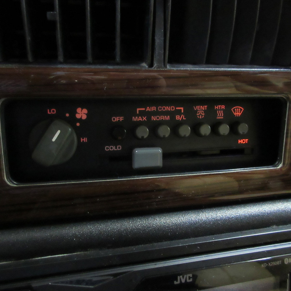 LED HVAC CONTROL BULB upgrade for Pontiac Fiero 1984 - 1988