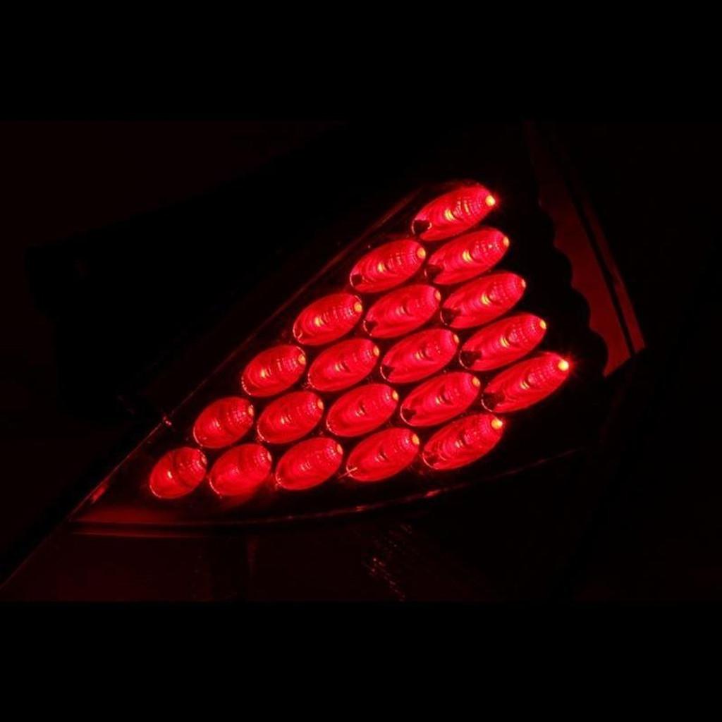 Anzo 03-05 Nissan 350Z LED Tail Lights - Smoke Lens