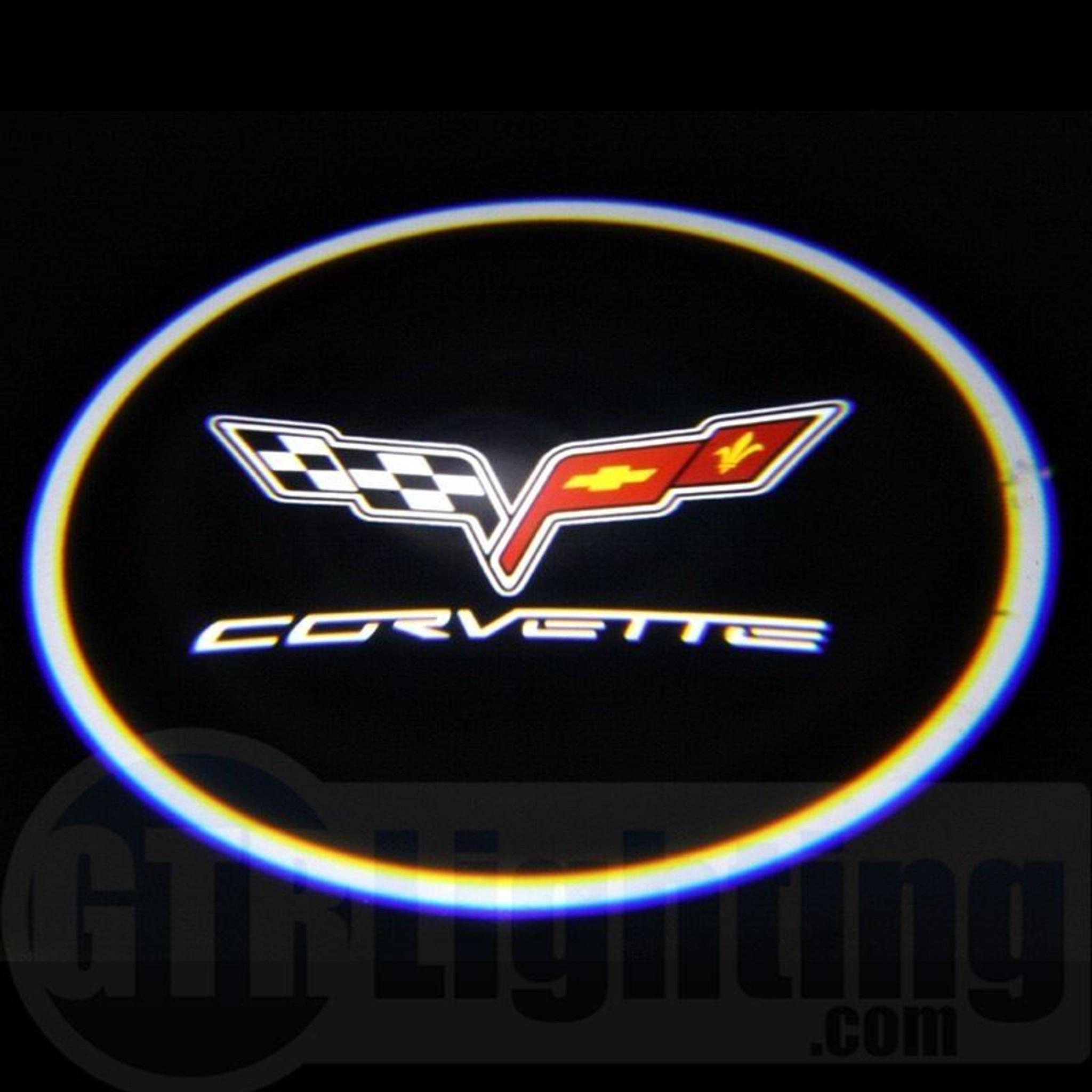 gtr lighting led logo projectors corvette logo 26