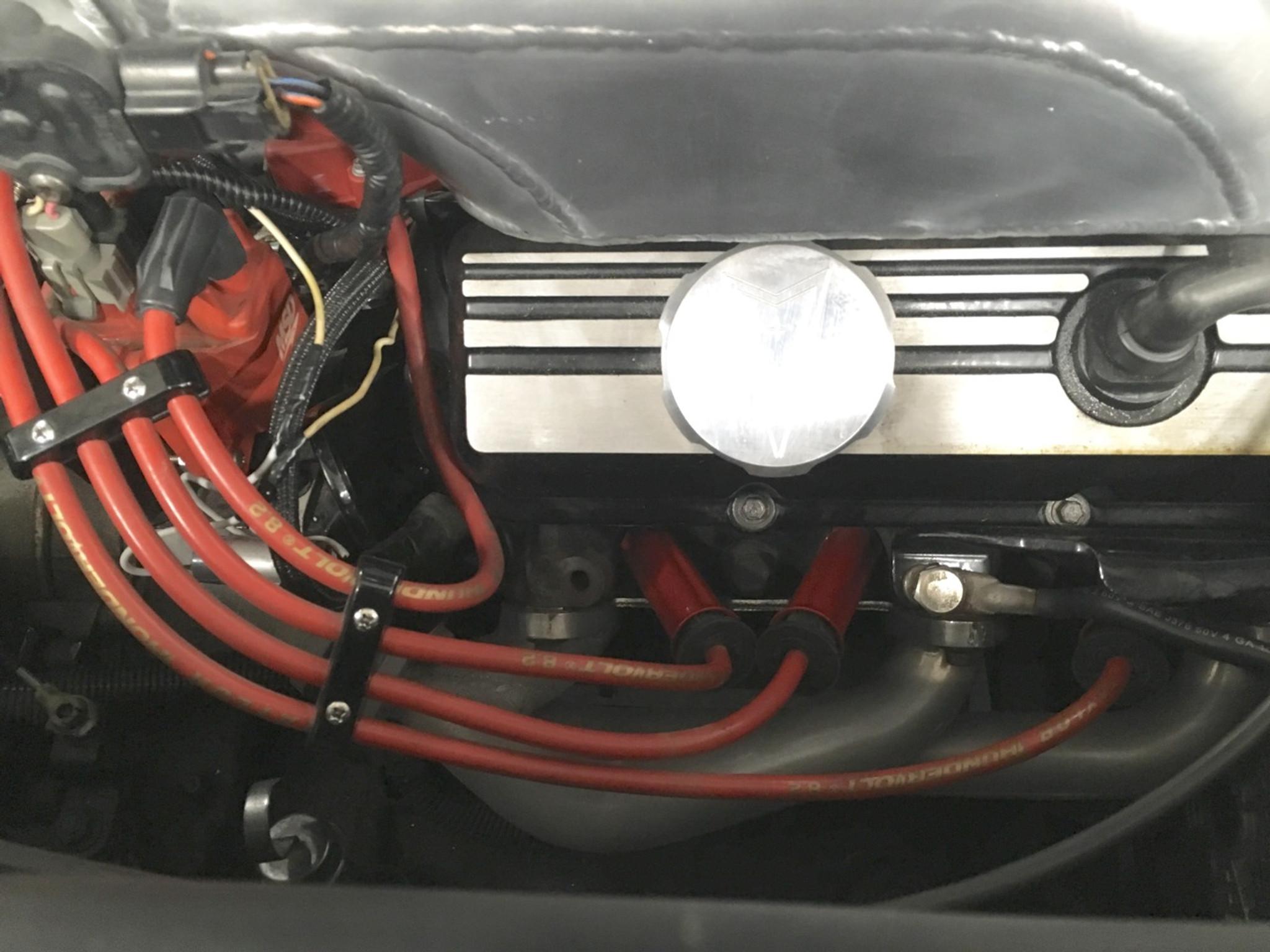 Taylor Cable Pontiac Fiero 2.8L V6 8.2mm Performance Spark Plug Wire ...