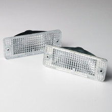 Pontiac Fiero Clear Front Turn Signal Housing Replacements