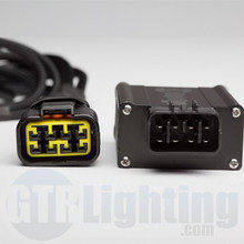 GTR Lighting Dual Beam HID Relay Harness - 9004 Style