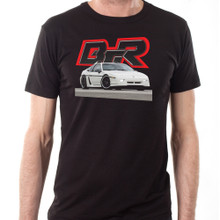Black Top Racing Black Men's Pontiac Fiero T-Shirt
