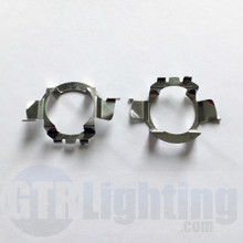 GTR Lighting Mercedes/Audi/BMW Metal H7 LED Bulbs Adapters