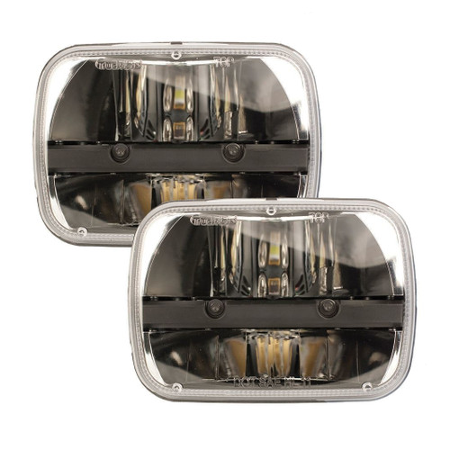 84-88 Pontiac Fiero LED Headlight Housings - Truck-Lite 27450C