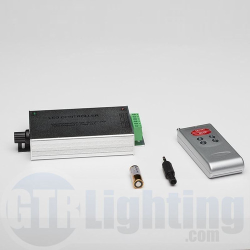 GTR Lighting Audio Style RF Controller for RGB LED