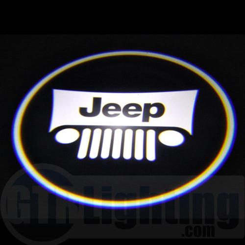 GTR Lighting LED Logo Projectors, Jeep Logo, #19