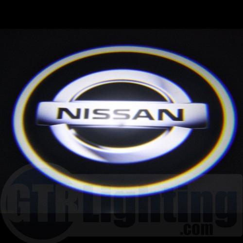 GTR Lighting LED Logo Projectors, Nissan Logo, #23