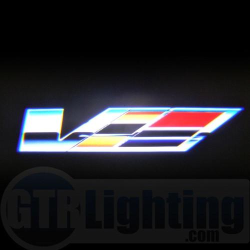 GTR Lighting LED Logo Projectors, Cadillac V Logo, #55