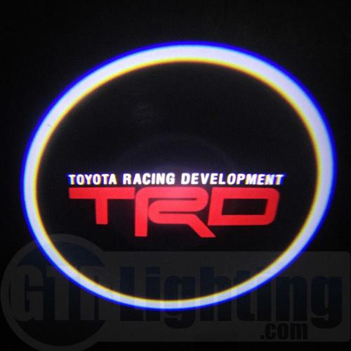 GTR Lighting LED Logo Projectors, TRD Logo, #58