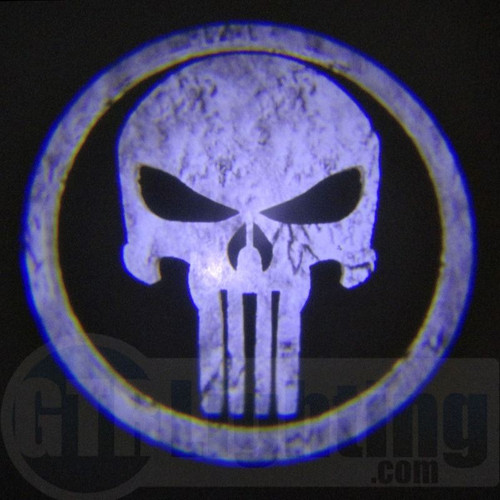 GTR Lighting LED Logo Projectors, Punisher Logo, #59