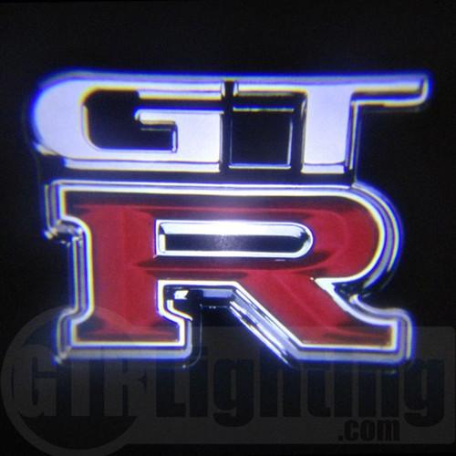 GTR Lighting LED Logo Projectors, Nissan GTR Logo, #60