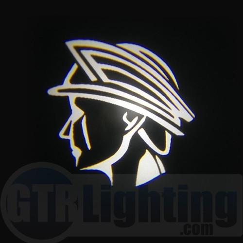 GTR Lighting LED Logo Projectors, Mercury Marauder God Head Logo, #66