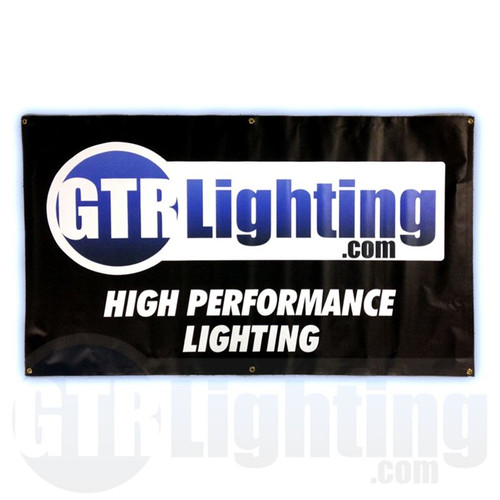 GTR Lighting Logo 5' Vinyl Shop Banner
