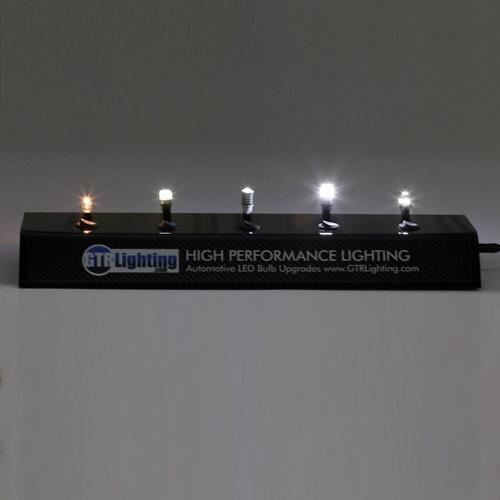 GTR Lighting T10 / 194 / 168 LED Bulb Display with Power Supply and Bulbs