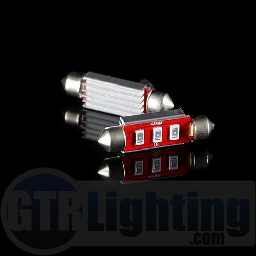 GTR Lighting 42mm CANBUS Festoon LED Bulbs
