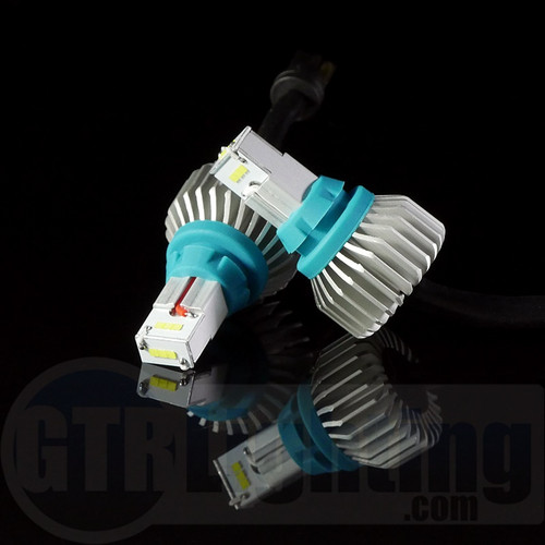 GTR Lighting High Output 1,000 Lumen LED Reverse Bulbs - T15 / 921