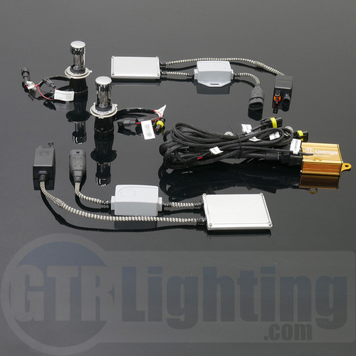 GTR Lighting 55w Smart PWM Dual Beam Slim HID Conversion Kit - 5th Generation