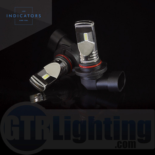 GTR Lighting Fog / DRL Ultra Series 9006 / HB4 LED Bulbs
