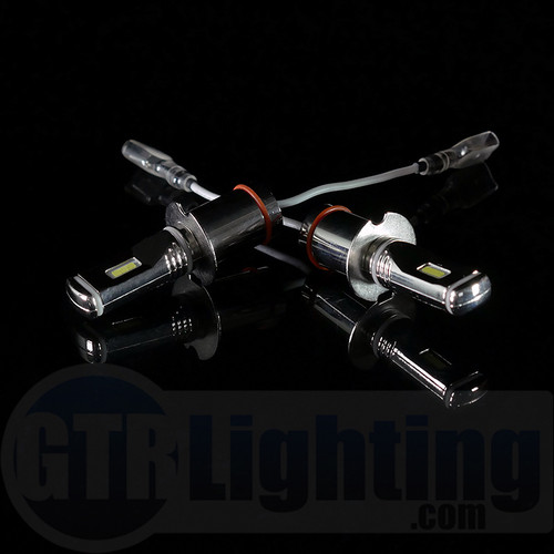 GTR Lighting Fog / DRL Ultra Series H3 LED Bulbs