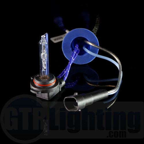 GTR Lighting 35w/55w Single Beam Replacement HID Bulbs, 9012 Angled Base (Pair)