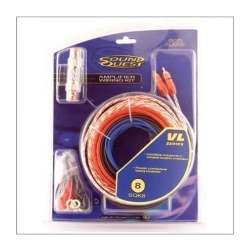 Sound Quest Sound Quest 8 Gauge Amplifier Wiring Kit