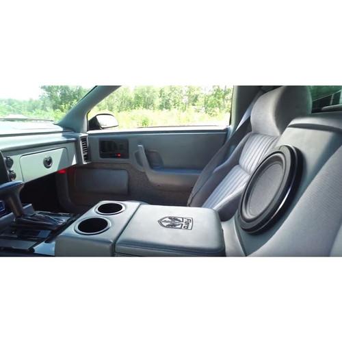 BTR Pontiac Fiero Center Console Subwoofer Box - Vinyl Style