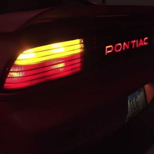 LVL 2 Pontiac Fiero 1985 - 1988 Fastback LED Tail Light Bulbs Upgrade Kit