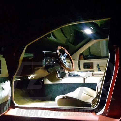 LVL 2 Pontiac Fiero 1984 - 1988 LED Dome Light Bulbs Upgrade Kit