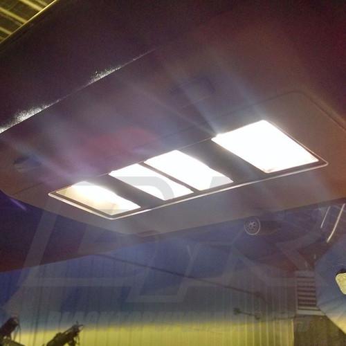 LVL 1 Pontiac Fiero 1984 - 1988 LED Dome Light Bulbs Upgrade Kit