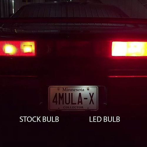 LED LICENSE PLATE LIGHTS - 1991 - 2005 Acura NSX LED Bulb Upgrade Kit