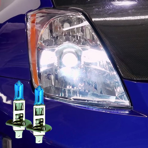 HALOGEN HIGH BEAM - 2003 - 2005 Nissan 350z Headlight Upgrade Kit