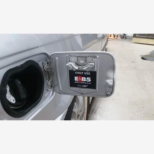 Black Top Racing E85 Gas Door Sticker