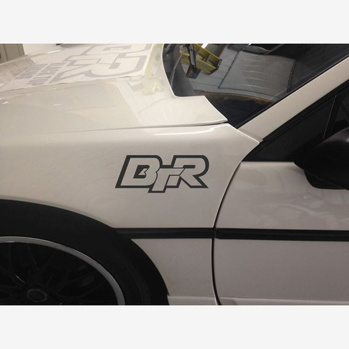 "Black Top Racing 7"" Vinyl Cut-Out Decal Sticker"