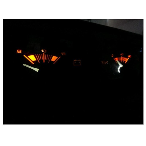 AUX GAUGE LED BULBS (Oil/Volts) - 1984 - 1988 Pontiac Fiero LED Light Bulbs Upgrade
