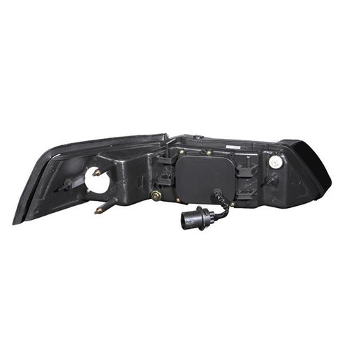 Anzo 99-04 Ford Mustang Projector Headlights - Black Housing