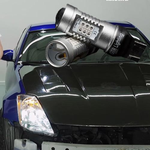 FRONT BLINKER BULBS   2003   2005 Nissan 350z LED Bulb Upgrade Kit