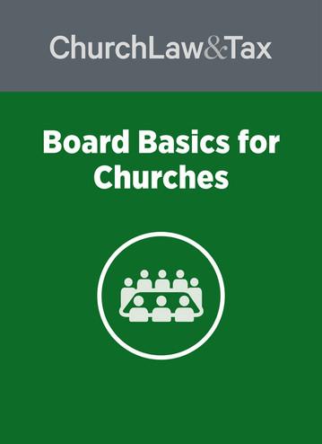 Board Basics for Churches