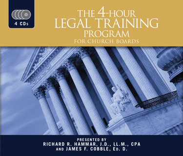 The 4 Hour Legal Training Program for Church Boards
